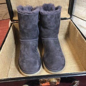 UGG Suede Meilani Nightfall Purple Boots